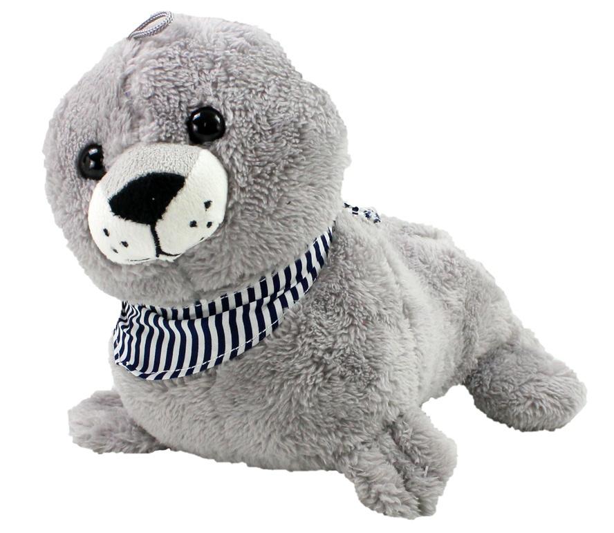 Seehund mit Tuch supersoft ca 26 cm