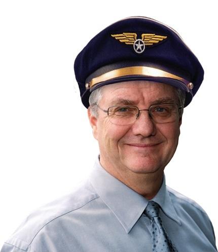 Hut - Cap Pilot Captain Roger