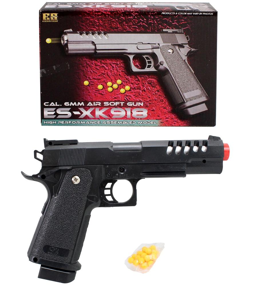 Kugelpistole max 0,5 Joule in Box ca 22 cm