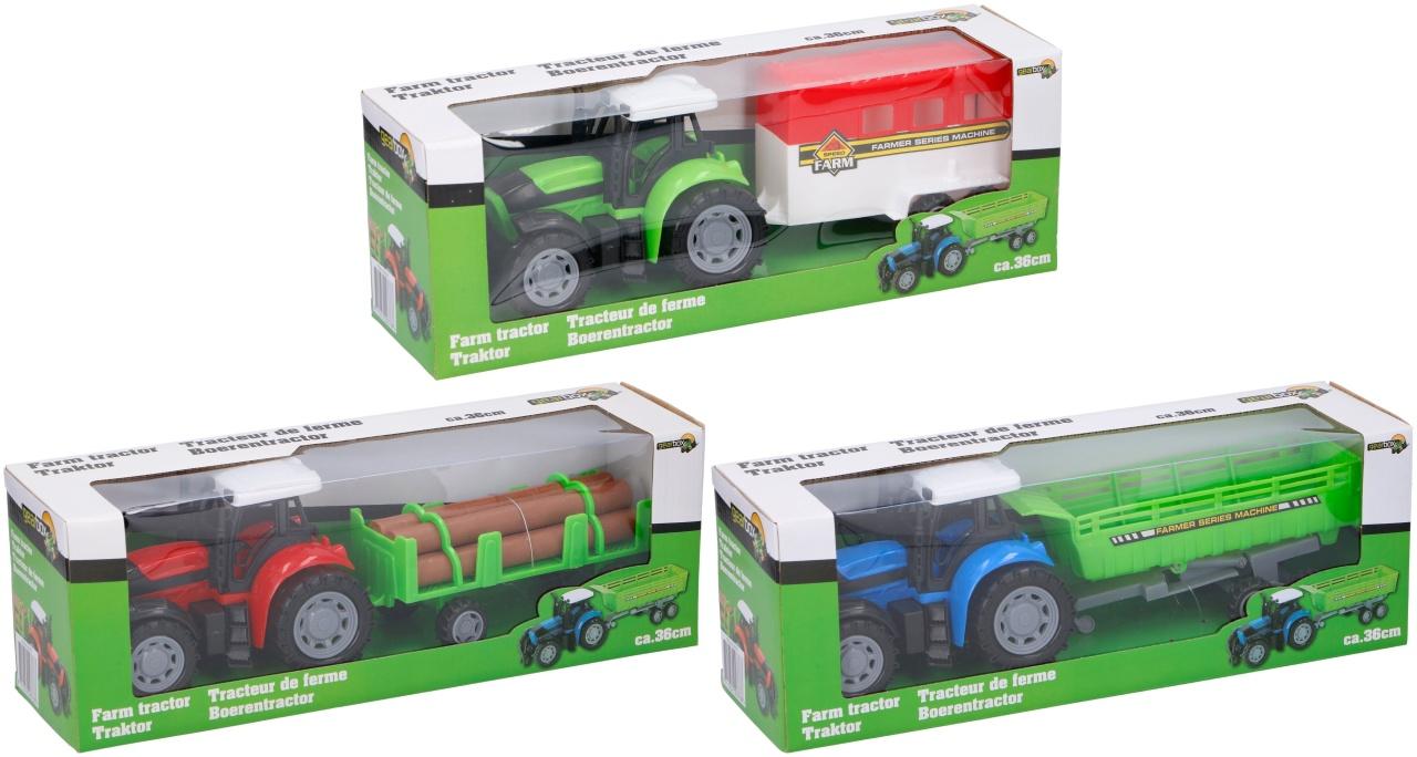 Traktor 3-fach sortiert ca 36 cm