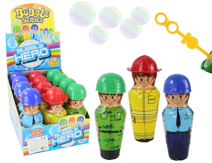 Seifenblasen Figuren 3-fach sortiert ca 15,5 cm