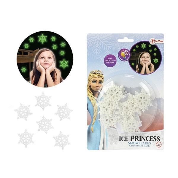 Ice Prinzessin Schneeflocken nachtleuchtend