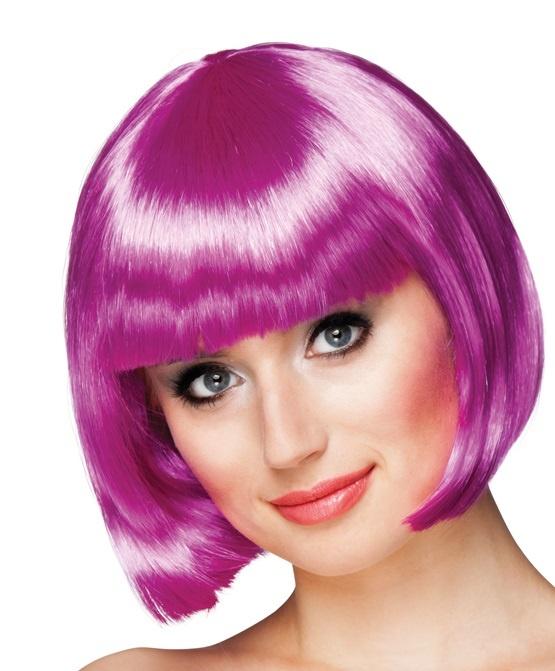Perücke Cabaret  violett