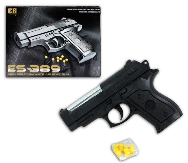 Kugelpistole ab 3 Jahren mit Magazin - ca 12,5cm