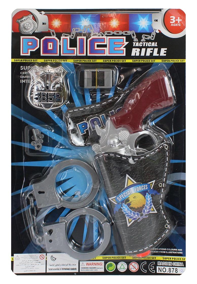 Polizeikarte- 7 Teilig auf Karte, ca 22x35 cm