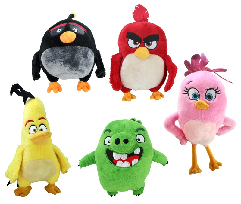 Angry Birds Movie 5 fach sortiert - ca 32-44 cm