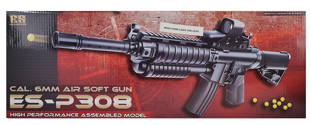 Maschinengewehr max 0,5 Joule mit Schutzbrille - ca 45cm
