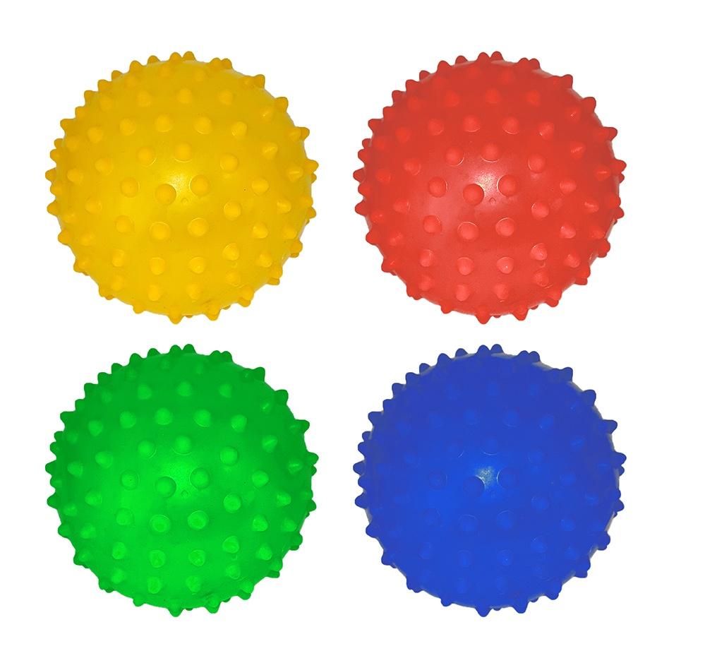 Noppenball 4 Farben sortiert ca  Ø 10 cm