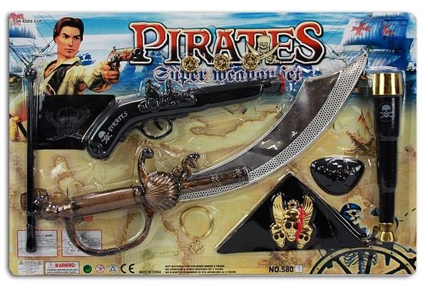 Piratenkarte 11 teilig ca 49x31cm
