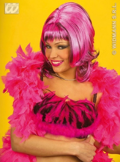 Perücke - Sharona - pink