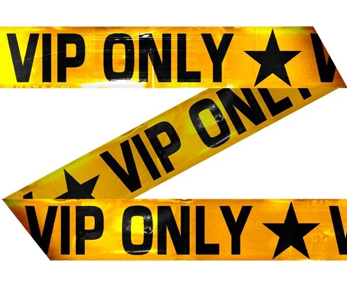 Absperrband VIP ca 15 meter!!