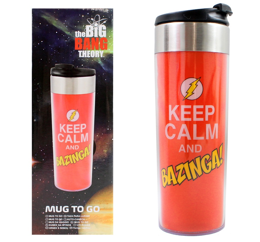 The Big Bang Theory Coffee To Go Becher Edelstahl ca 400 ml