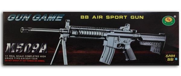 Kugel-Maschinengewehr max 0,50 J mit Zweibein ca 55cm