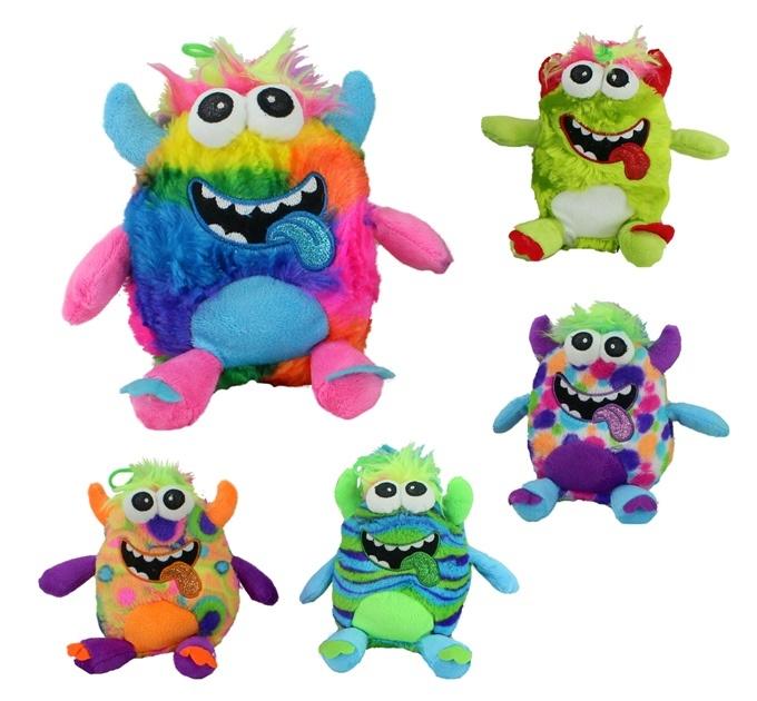 Monster Crazy 5-fach sortiert - ca 19 cm