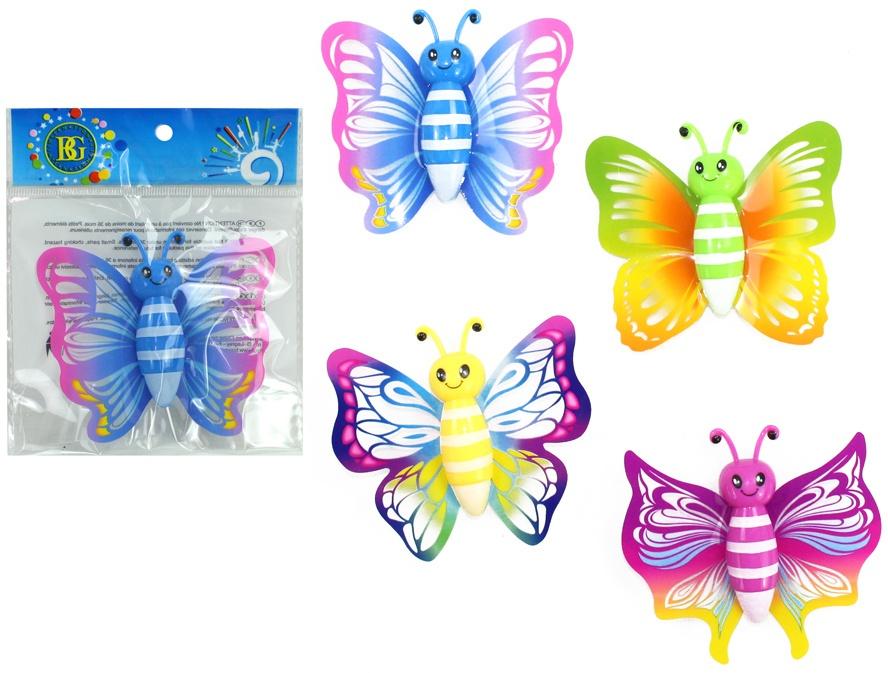 Schmetterling Sticky ca 9 cm