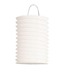 Laterne Zuglaterne weiß Durchmesser ca 16cm