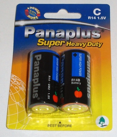 Batterien C- Babyzellen