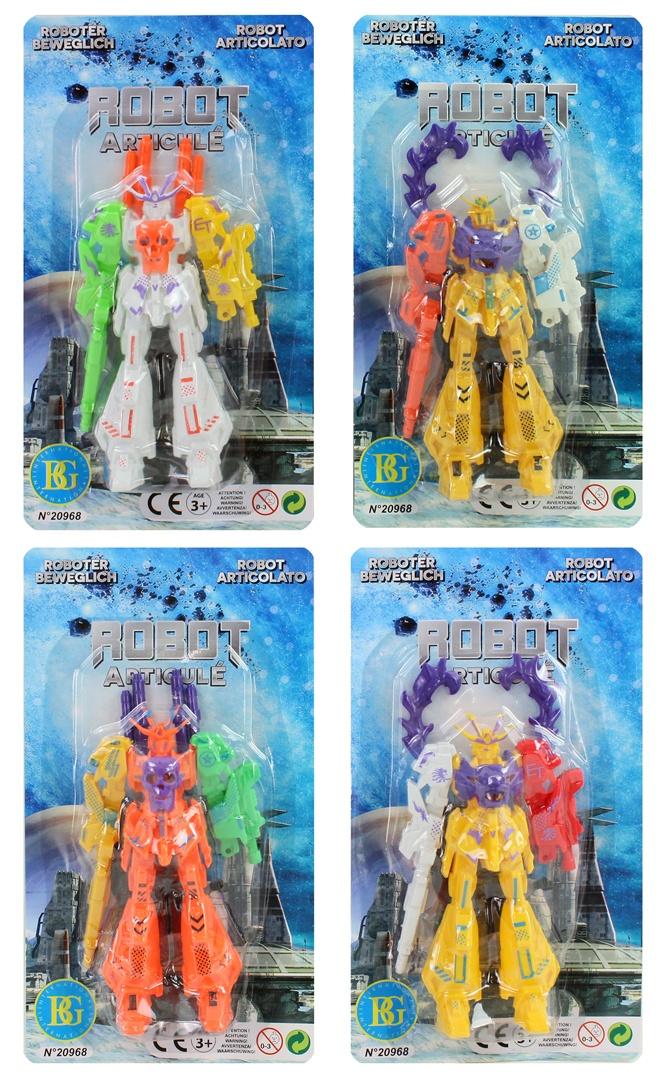 Roboter farbig sortiert ca 12 cm