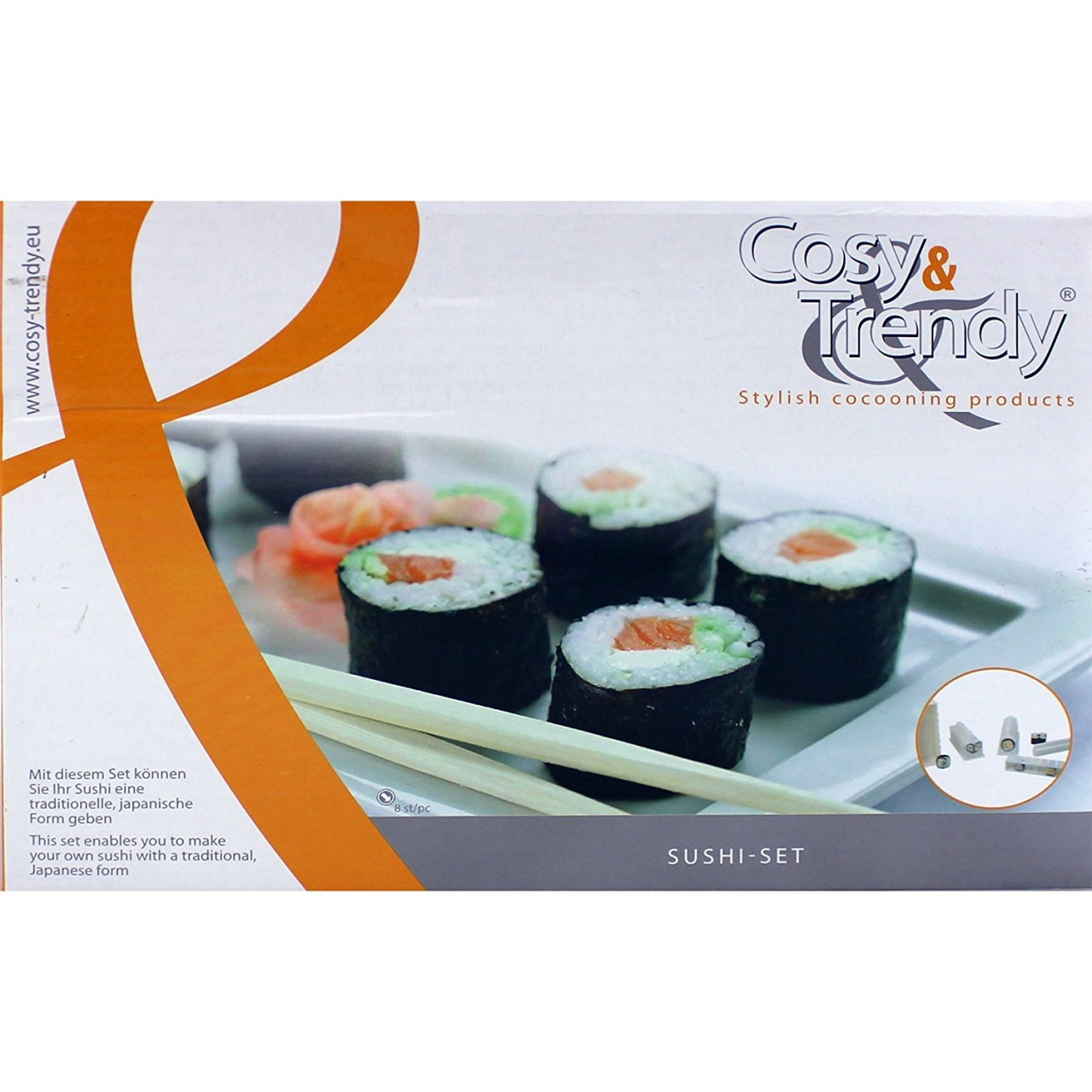 Sushi Set Sushimaker, Sushiroller, Sushiformer