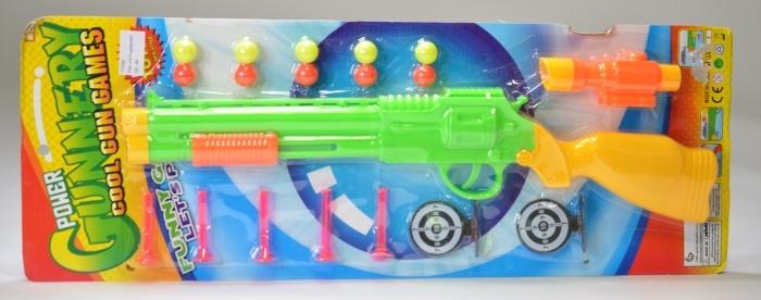 Pfeil- und Kugelgewehr