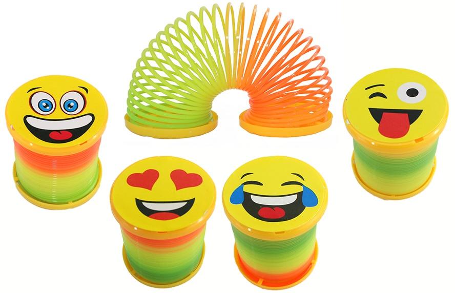 Spirale Funny Face 4 fach sortiert ca 6x5cm