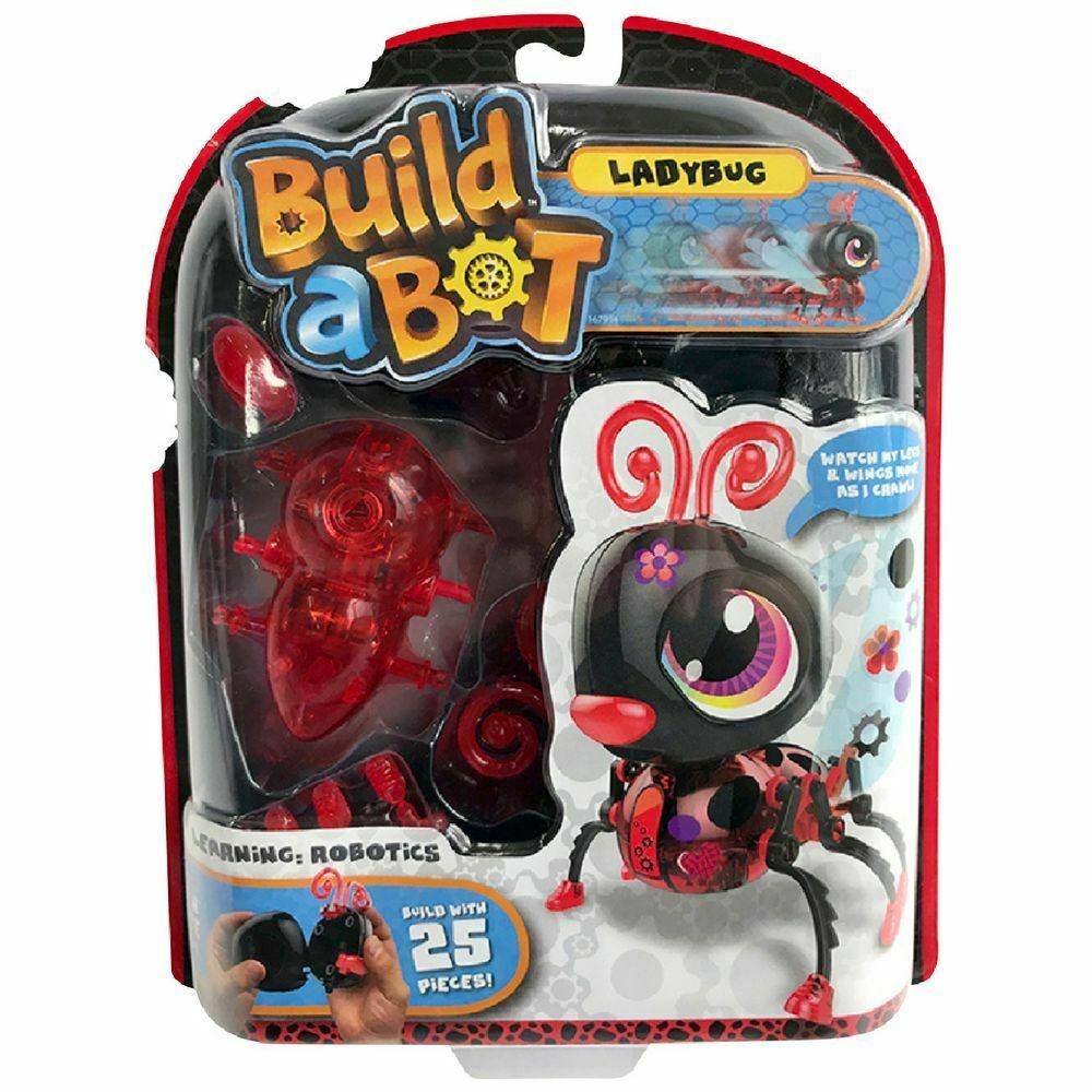 Build-a-Bot Marienkäfer im Blister ca 25x20cm