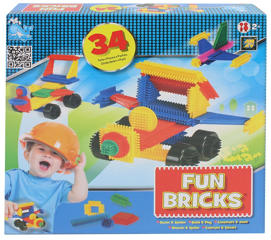 Beluga Fun Bricks - Noppenbausteine 34 Teile