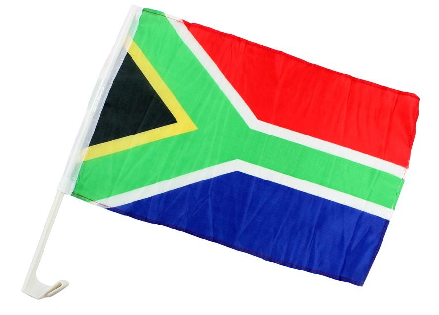 Autofahne Südafrika ca 45 x 30 cm