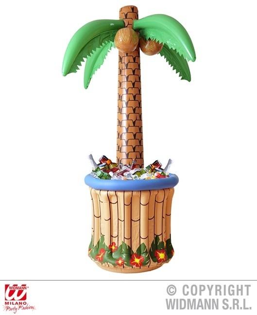 Palme mit aufblasbarem Kühlaggregat ca 182cm