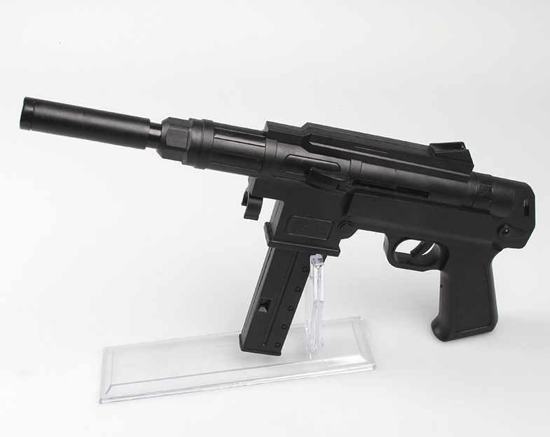 Kugel-Maschinenpistole mit kurzem Schaft max 0,49J - ca 38cm