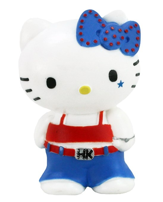 BULLYLAND Hello Kitty Cool in Jeans ca 5cm