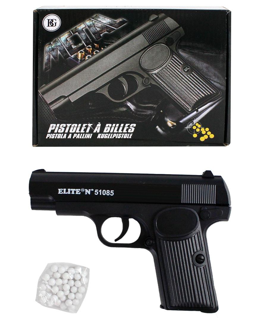 Kugelpistole METALL max 0,50 Joule - ca 16,5cm
