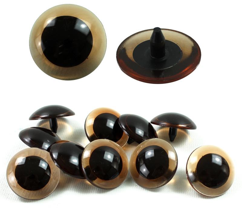 Auge Bastelauge Plüschtierauge ca 34 mm