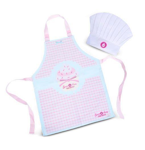 Sweet & Easy Enie backt Kochschürze und Kochmütze