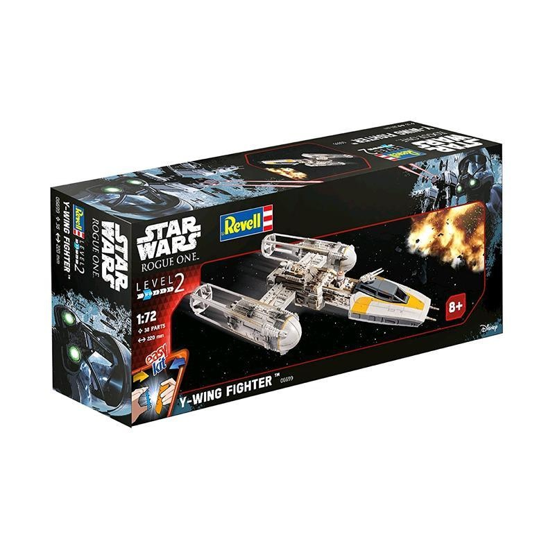 REVELL Bausatz Star Wars Y-Wing Fighter 06699 - ca 22cm