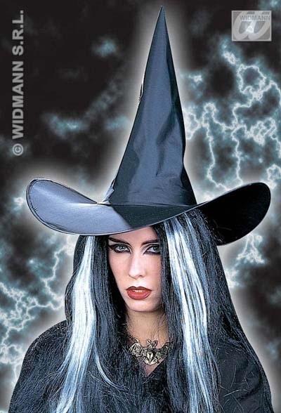 Hut - großer Hexenhut schwarz