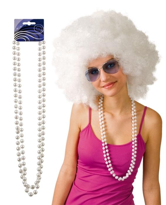 Halskette Perle weiß Set bestehend aus 2 Halsketten