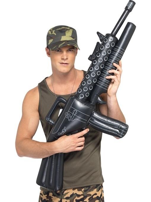 Maschinengewehr aufblasbar ca 92 cm