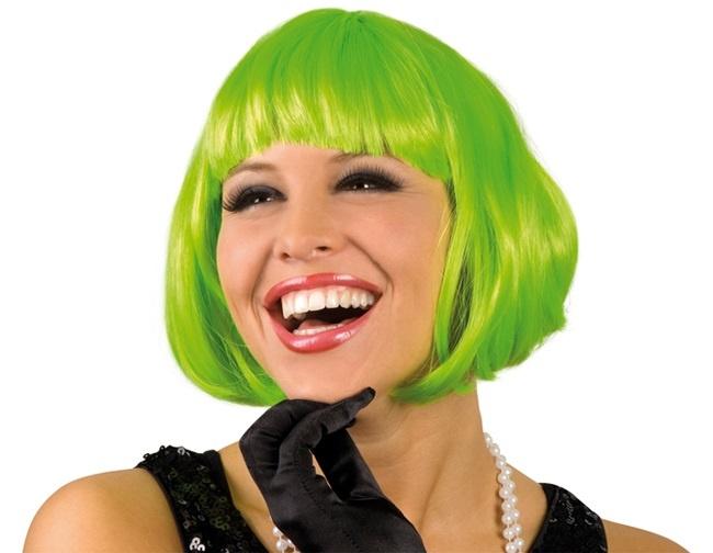 Perücke Cabaret  grün
