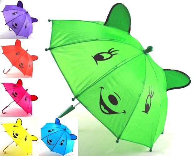 Regenschirm Kinderregenschirm 6 fach sortiert ca 50cm