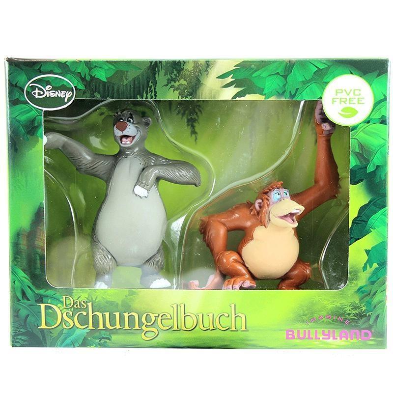 DISNEY Bullyland Das Dschungelbuch Figuren Balu & King Louie