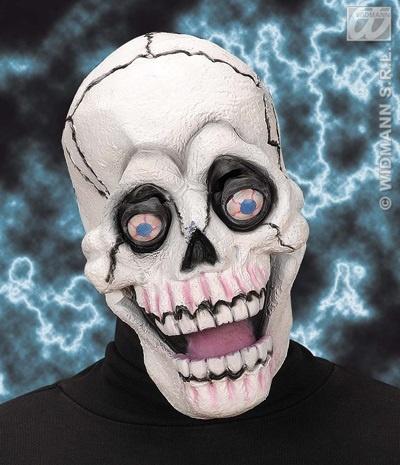 Maske - Totenkopf mit Glotzaugen