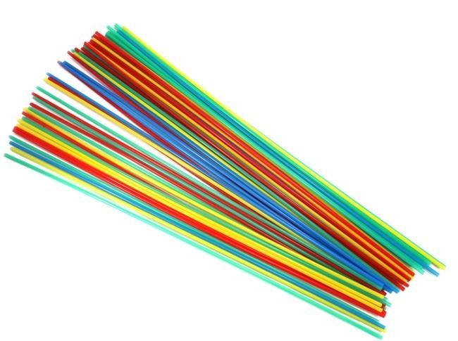 Trinkhalme 50 Stück Extra Lang ca 75 cm