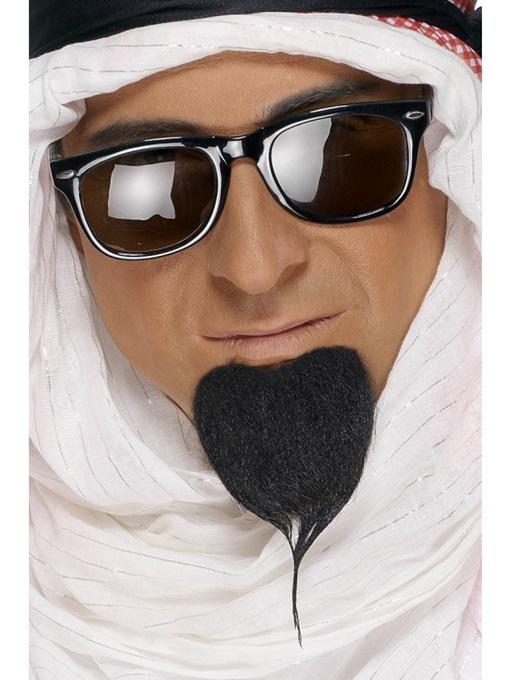 Bart Araber Bart an Karte im Beutel ca 19x10cm