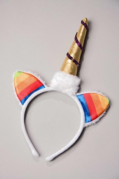 Kopfbügel Einhorn: Horn und Ohren