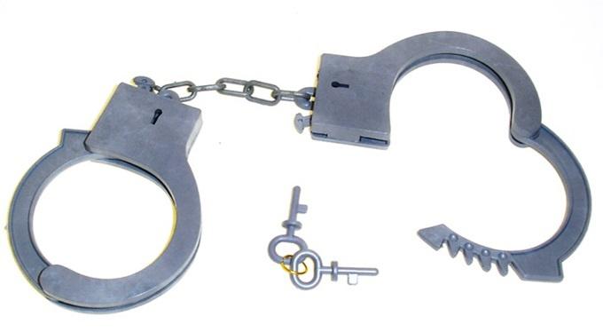 Handschellen- Kunststoff -im Beutel ca 13x14cm