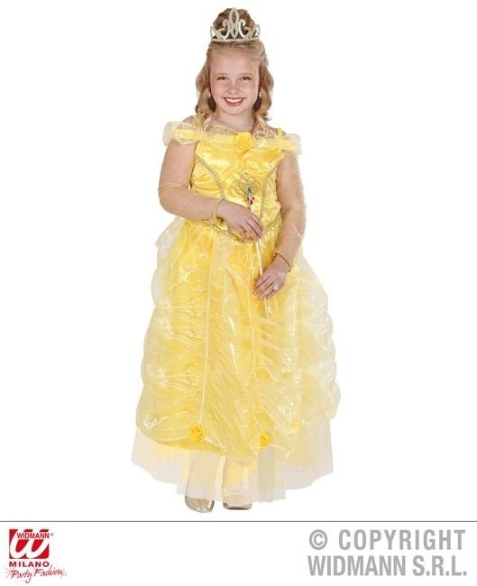 Kostüm Sonnenprinzessin (Kleid, Diadem)