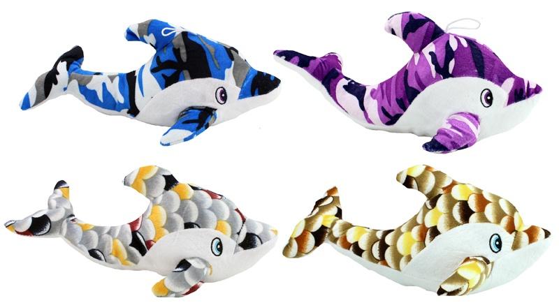 Delfin 4-fach sortiert ca 30cm