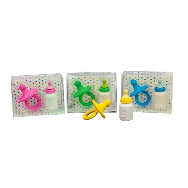 Radiergummi Baby Set 2 teilig in Schachtel ca 6x4,5x2,5cm