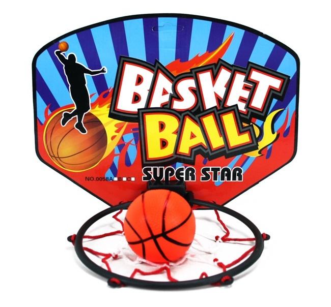Basketballkorb mit Ball - ca 28x21cm